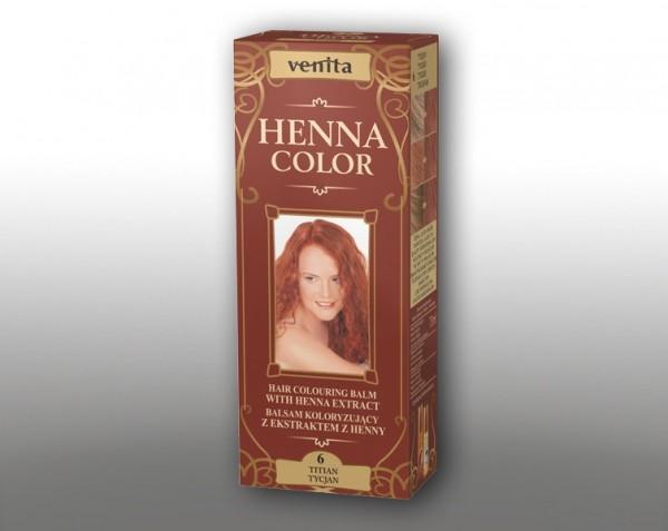 Haarbalsam mit färbendem Effekt auf Henna-Basis, 75 ml, Farbton: Titian