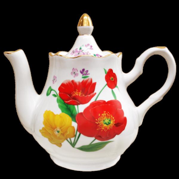 """Teekanne 1750 ml """" Mohnblümen"""""""