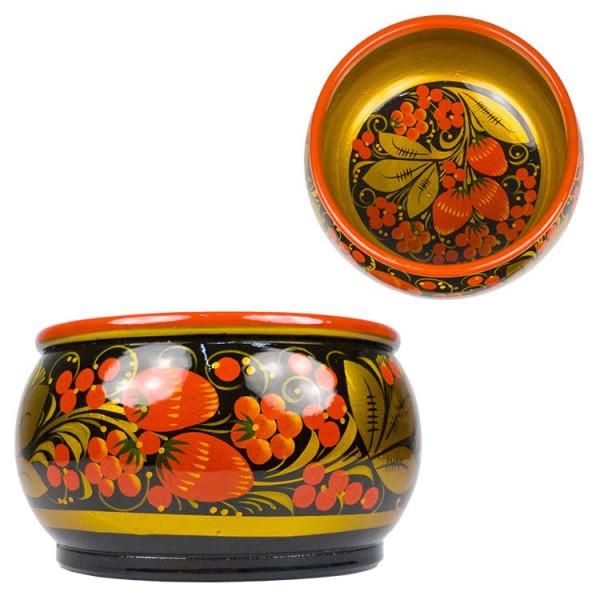 """Dekoschale """"Chochloma"""", Höhe ca. 7,5 cm, Durchmesser ca. 15 cm"""