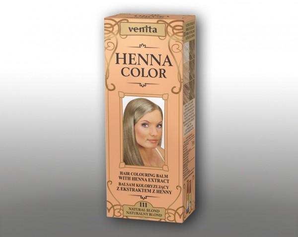 Haarbalsam mit färbendem Effekt auf Henna-Basis, 75 ml, Farbton: Naturblond