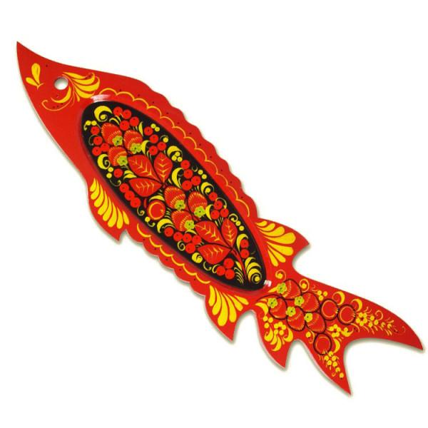 "Dekofischteller ""Chochloma"", 55 x 16,5 cm"