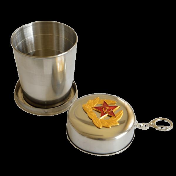 Klappbecher, Rote Armee 150 ml