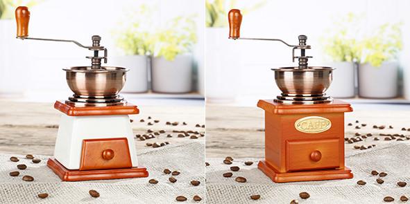 Kaffeemühlen sortiert 2 verschiedene Designs