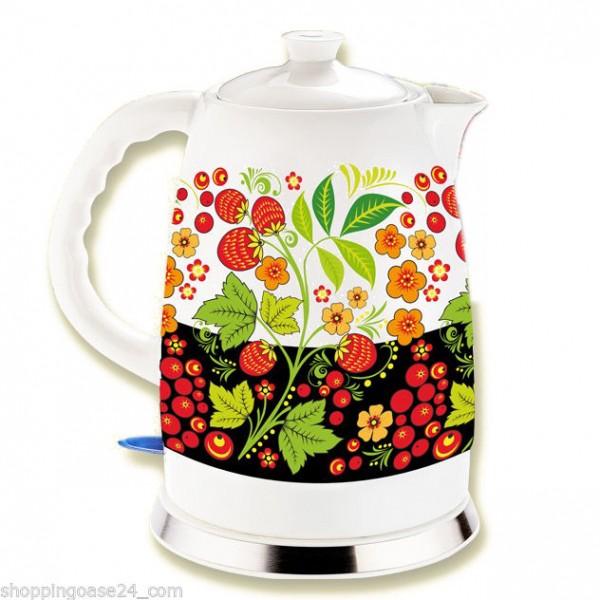 Keramik Wasserkocher Chohloma 2 Liter