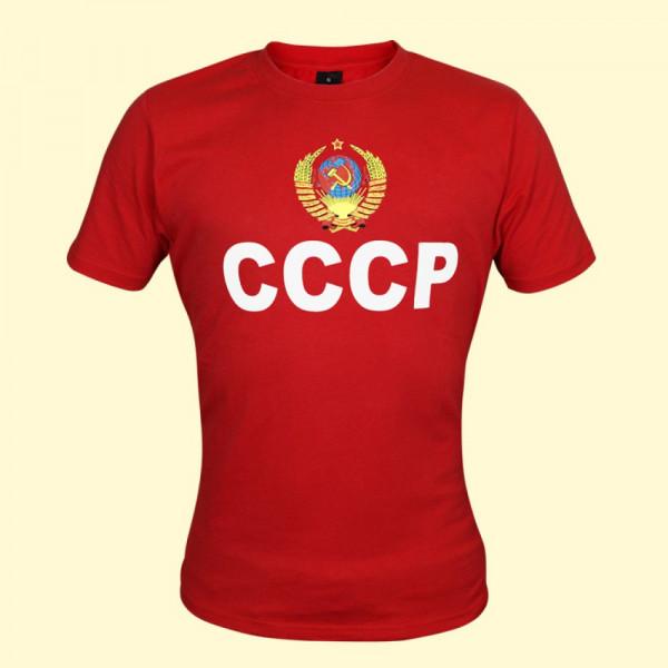 T-Shirt CCCP rot kurzarm