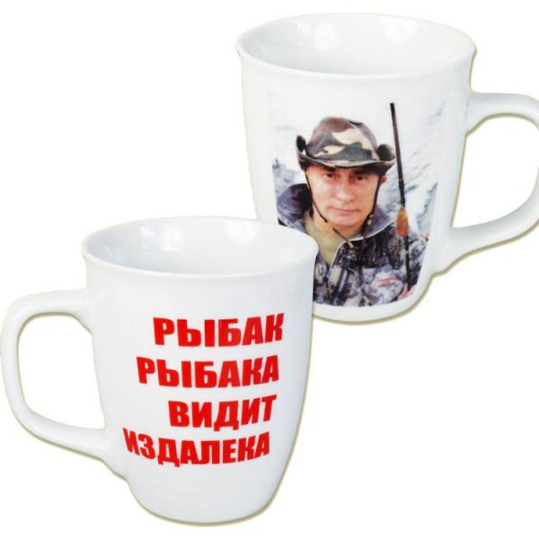 Kaffeebecher Vladimir Putin 400ml. Fischer