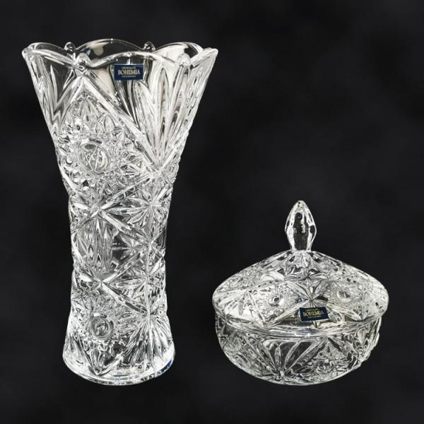 Geschenkset 2-teilig - Vase Miranda
