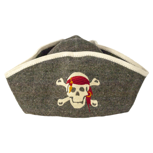 Saunahut Pirat