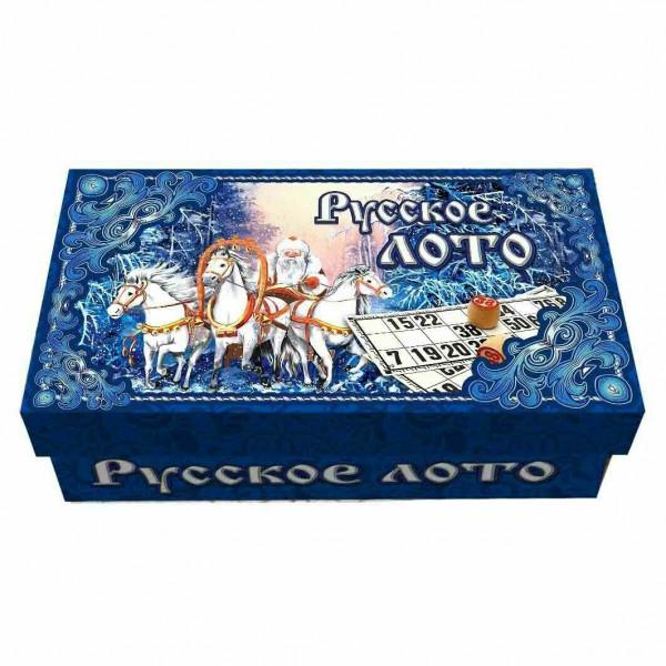Trojka Pferde Russisches Lotto Bingospiel