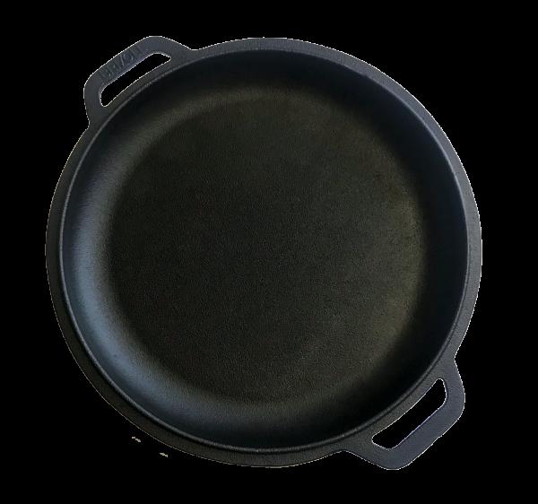 Brizoll Bratpfanne als Deckel aus Gusseisen 28 cm