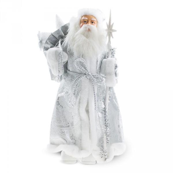Weihnachtsmann Weiß 40 cm