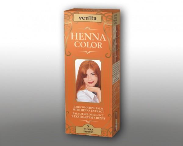 Haarbalsam mit färbendem Effekt auf Henna-Basis, 75 ml, Farbton: Paprika