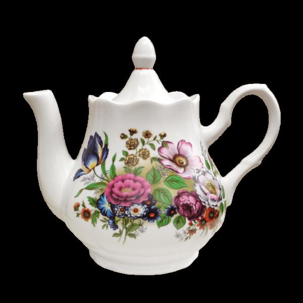 """Teekanne aus Porzellan 800 ml """"Blumenwiese"""""""