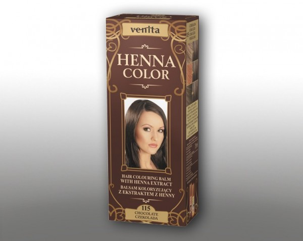 Haarbalsam mit färbendem Effekt auf Henna-Basis, 75 ml, Farbton: Schokolade