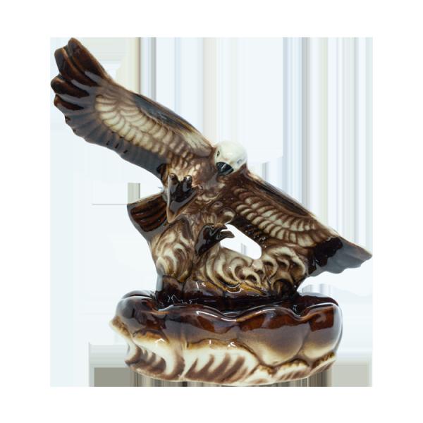 Aschenbecher Adler 24 cm, aus Keramik
