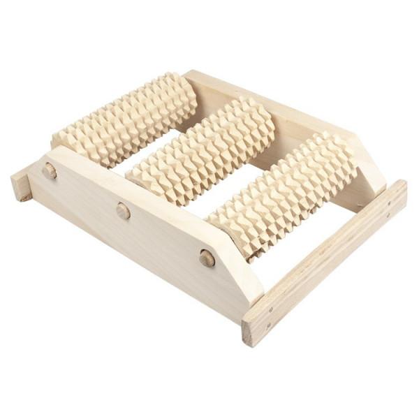 Fußmassageroller aus Holz klein