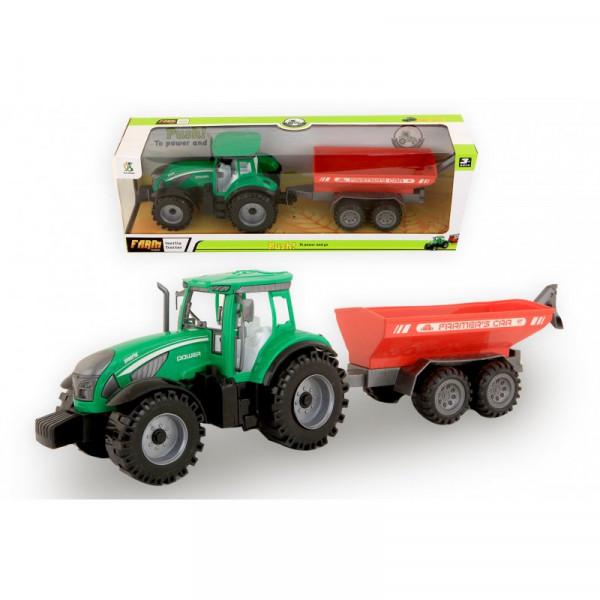 Jonotoys Traktor mit Kipperreibung 42 cm