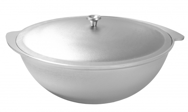 Kochtopf - Wok aus Aluminium 9 Liter