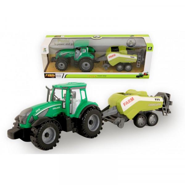 Jonotoys Traktor mit Packerreibung 42 cm