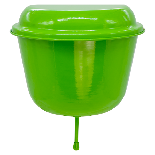 Aluminium Wasserspender 6 Liter Grün