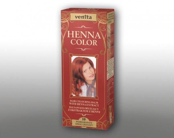 Haarbalsam mit färbendem Effekt auf Henna-Basis, 75 ml, Farbton: Grenadine
