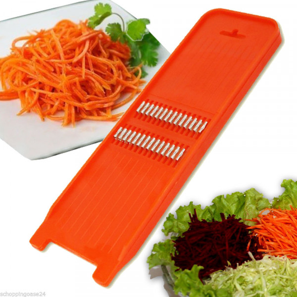Karottenreibe aus plastik 2 mm
