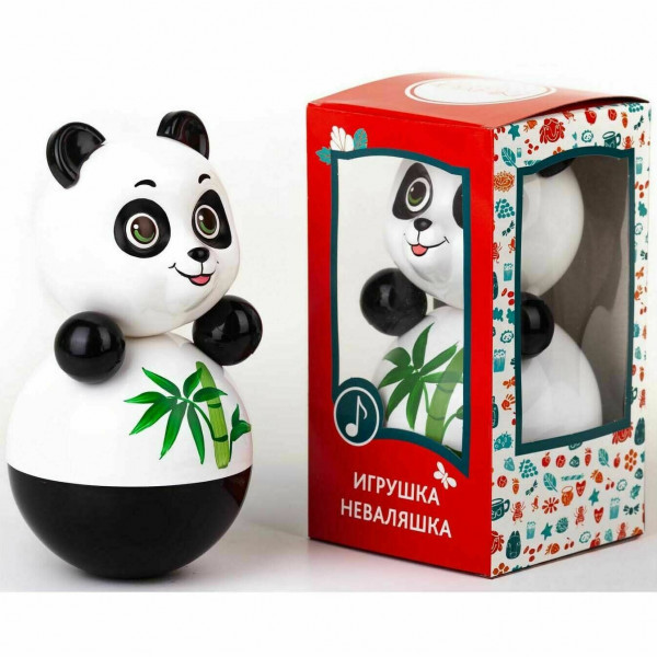 Panda Musikpuppe Wackelpuppe 22 cm