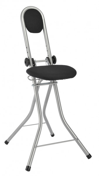 Steh - und Sitzhilfe mit 4 Einstellungen, aus Stahlrohr