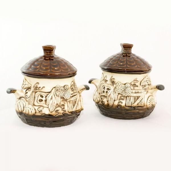 Keramiktopfset Hatka (2 St.) 0,6 L