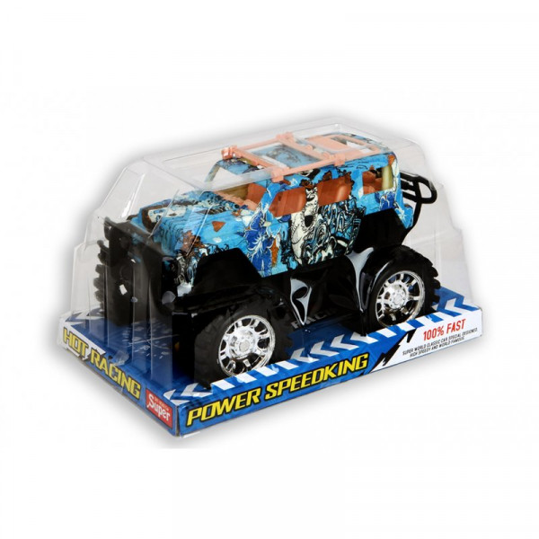 Jonotoys Auto Off Road Friktion 22 cm in Polybox