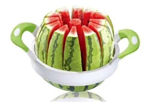 Edelstahl Obstteiler Obstschneider Wassermelone Schneider Gemüse Obst Schneider