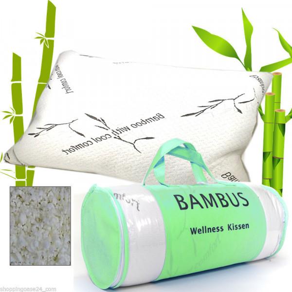 Bambus Multifunktionskissen Kissen orthopädisches hypoallergen 60x48 cm