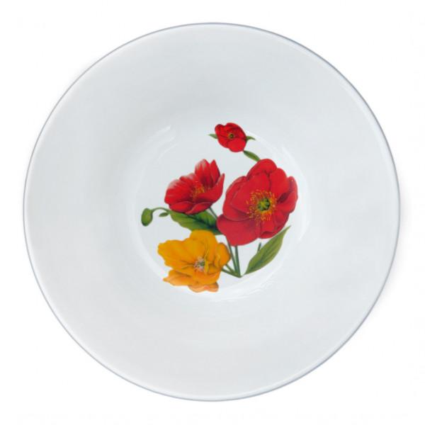 """Salatschüssel 600 ml """" Mohnblumen"""""""