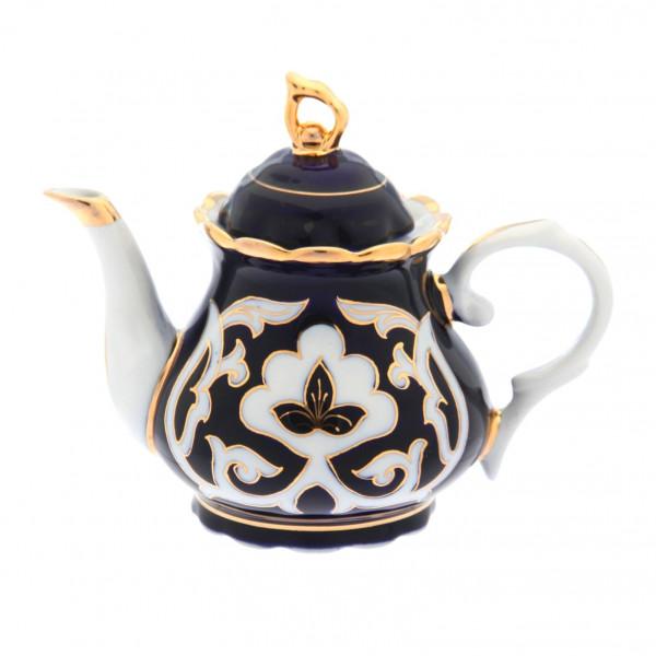 """Teekanne """"Pachtagül Gold"""" aus Porzellan, 1000 ml"""