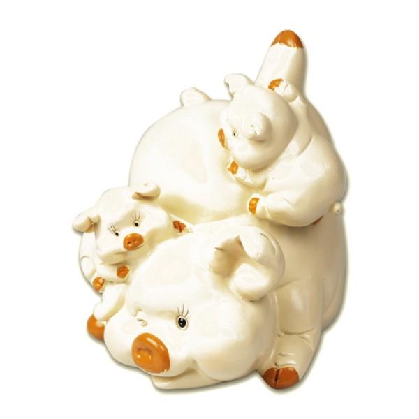 Spardose Schwein 12 cm